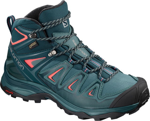Salomon X Ultra 3 Mid GTX Buty Kobiety, hydro.reflecting ponddubarry